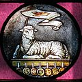 Immaculate Conception Catholic Church (Knoxville, Tennessee) - stained glass, Agnus Dei.jpg