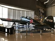 Imperial Japanese Navy Type 0 Carrier Fighter in Chikuzen Town Tachiarai Peace Memorial Museum 1.jpg