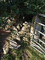 Impossible stile near Whiddon Down - geograph.org.uk - 1548714.jpg