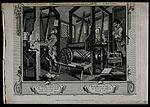 In a Spitalfields silk weaver's shop two contrasting apprent Wellcome V0049196.jpg