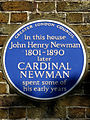 In this house John Henry Newman 1801-1890 later CARDINAL NEWMAN spent some of his early years.jpg
