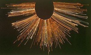 Quipu - An example of a quipu from the Inca Empire, currently in the Larco Museum Collection.