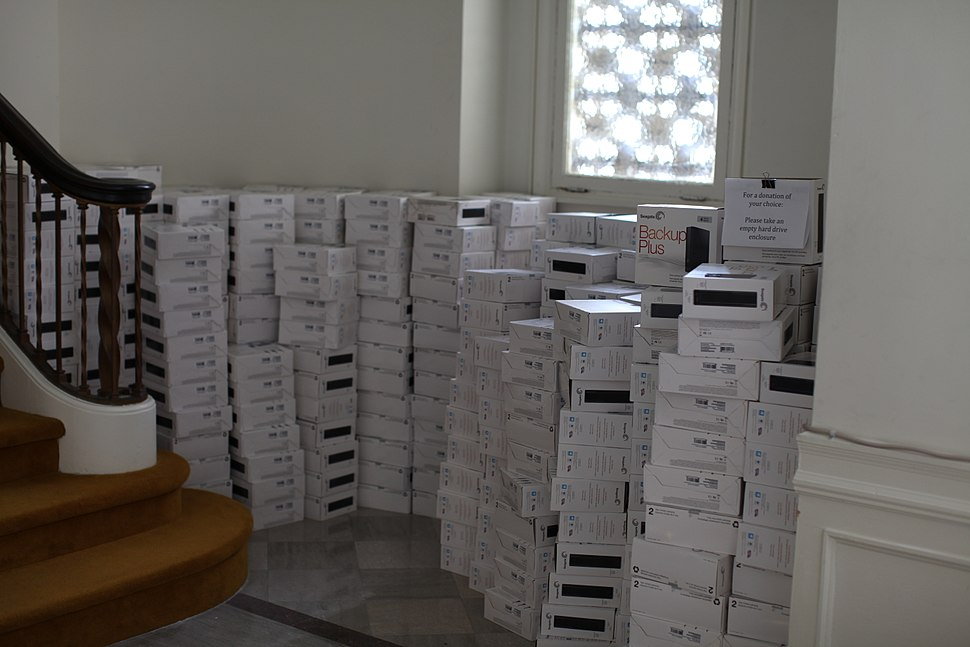 Incoming additional storage at Internet Archive
