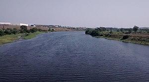 Indrayani River - Indrayani River at Moshi