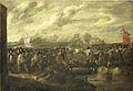 Infanteriegevecht bij een brug Rijksmuseum SK-A-619.jpeg