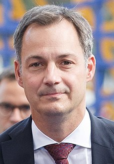 Informal meeting of ministers responsible for development (FAC). Arrivals Alexander De Croo (36766610160) (cropped2).jpg