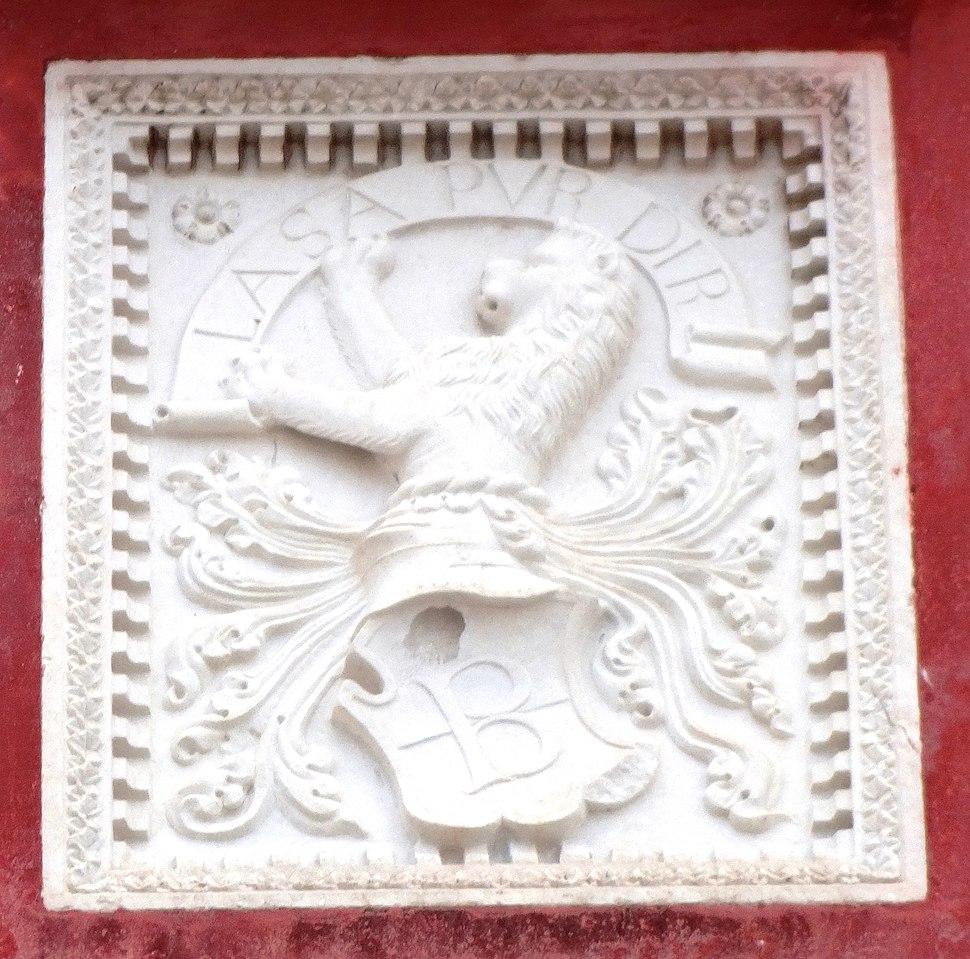 Inschrift Venezianerhaus