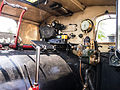 Inside the cab of a Double Fairlie (7819466362).jpg