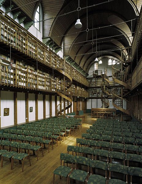 File interieur overzicht voormalige bibliotheek wittem 20378377 wikimedia commons - Interieur bibliotheek ...
