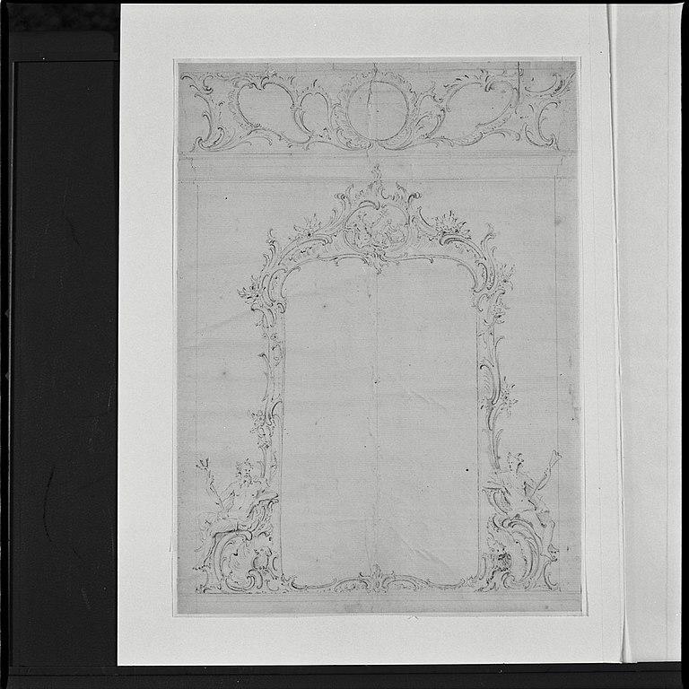 File interieur potlood ontwerp vooor schoorsteenspiegel for Interieur ontwerpers