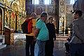 Interior, St. Michael's Golden-Domed Monastery, Kiev (29528997688).jpg