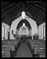 Interior view from north. - St. Andrew's Chapel, 104 Maple Avenue, Sudlersville, Queen Anne's County, MD HABS MD-1391-5.tif