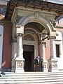 Intrarea bisericii mari Sinaia.JPG