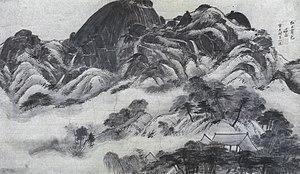 Inwang jesaekdo - Image: Inwangjesaekdo