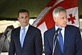 Irakli Alasania and Chuck Hagel 2014-09-07.jpg