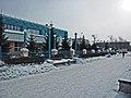 Irkutsk. February 2013. Barguzin, regional court, bus stop Volga, Diagnostic Center. - panoramio (20).jpg
