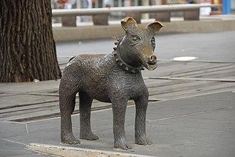Larry La Trobe - Image: Irving Bronze Sculpture Larry La Trobe 1992 1996 a