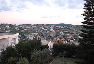 Isfiya - View of the village