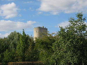 Issoudun - White tower
