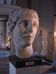 Sappho as depicted through a 2nd century CE Roman copy of an ancient Greek bust.