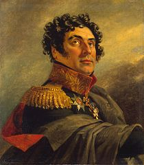 Portrait of Pyotr I. Ivelich (1772 - after 1816)