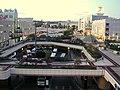 Izumi-chuo viewed from the multi-story parking garage of Izumi-chuo Sta..JPG