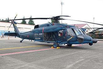 Mitsubishi H-60 - JASDF UH-60J, Hyakuri Air Rescue Wing