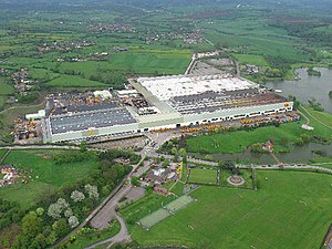 JCB (company) - JCB factory and park at Rocester