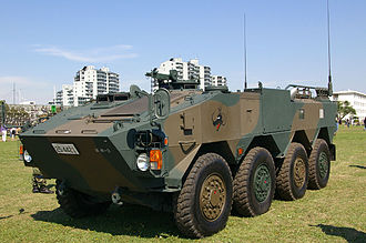Type 96 Armored Personnel Carrier - A Type 96 of the JGSDF displayed at Camp Shimoshizu