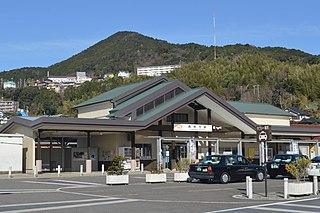 Kumanoshi Station Railway station in Kumano, Mie Prefecture, Japan