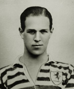 Jimmy McCree - McCree while with London Caledonians in 1924.