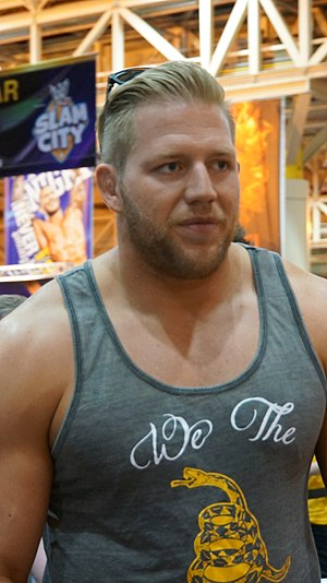 Jack Swagger - Swagger in April 2014
