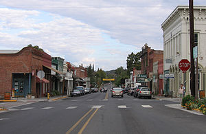 Jacksonville, Oregon - California Street