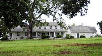 Jacob Wingard Dreher House - Jacob Wingard Dreher House, August 2012