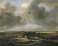 Jacob van Ruisdael - Campos de blanqueo en Bloemendaal cerca de Haarlem década de 1660.jpg