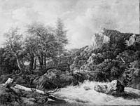 Jacob van Ruisdael - Mountain Torrent KMSsp569.jpg