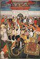 Jahangir receives prince Khurram of his returns from deccan.jpg