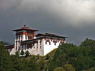 Jakar Thromde in Bumthang, Bhutan