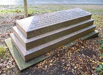James Charles Chatterton - Chatterton's tomb in Brookwood Cemetery