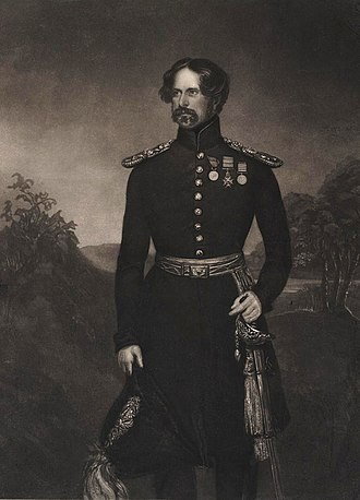 James Charles Chatterton - Sir James Charles Chatterton when Colonel of the 5th Royal Irish Lancers (1858-1868)