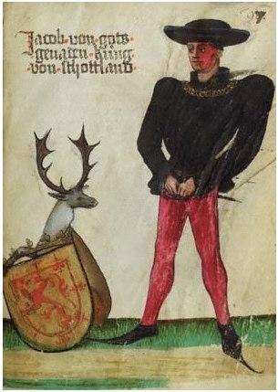 James II of Scotland (by von Ehingen)