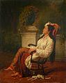 Jan Daniël Beynon - Day dreaming (1869).jpg