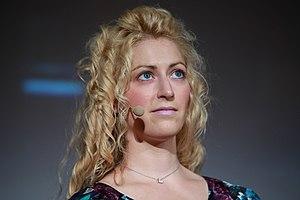 Jane McGonigal - Image: Jane Mc Gonigal Meet the Media Guru 1