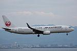 Japan Airlines, B737-800, JA338J (18452215605).jpg