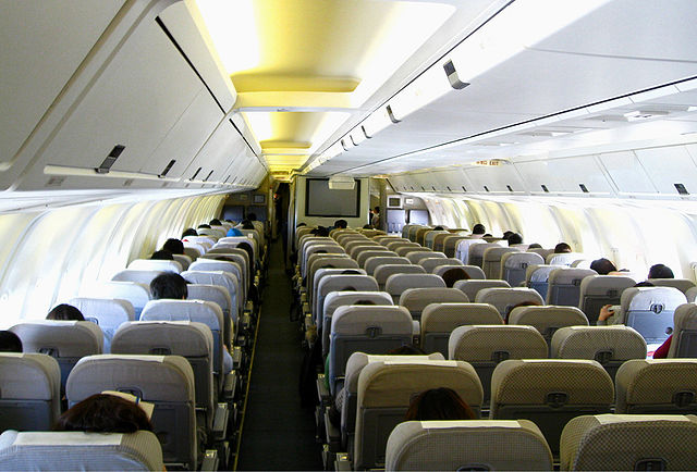 File japan airlines 767 300 economy wikimedia for First class 8 interieur