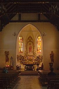 Jastrzębie-Zdrój Sacred Heart of Jesus church interior 2020.jpg