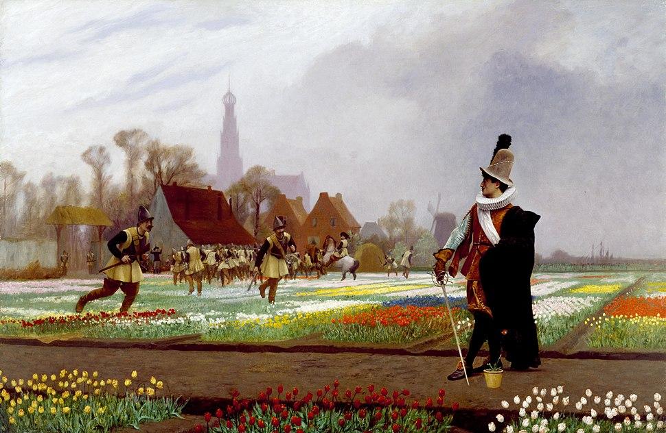 Jean-Léon Gérôme - The Tulip Folly - Walters 372612