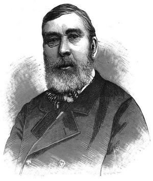 Jean Laurent (photographer) - Juan Laurent, from  La Ilustración Nacional (1887)