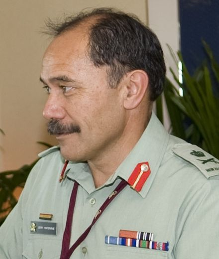 Lt. Gen. Jerry Mateparae as Chief of Defence on 29 May 2009, in Singapore. Jerry Mateparae 090529-N-8623G-003.jpg