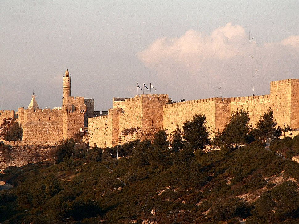 Jerusalem, city wall